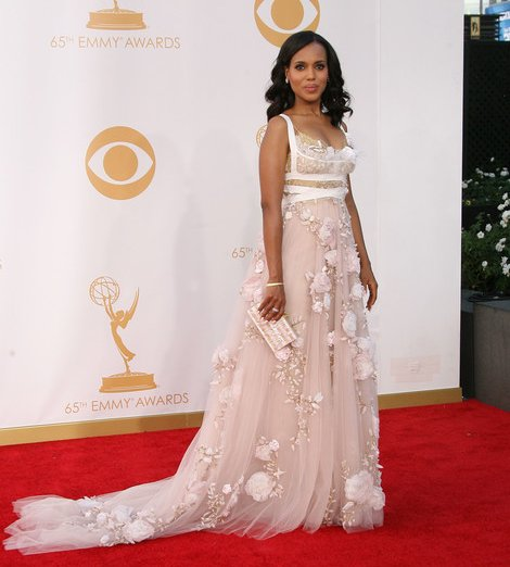 Kerry Washington in Marchesa