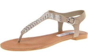 flat prom sandals