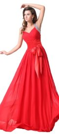 prom dresses under 200 long red