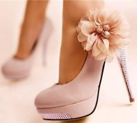 romantic prom shoes