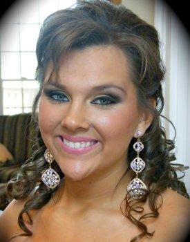 smokey prom makeup