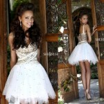 Beautiful Short White Prom Dresses