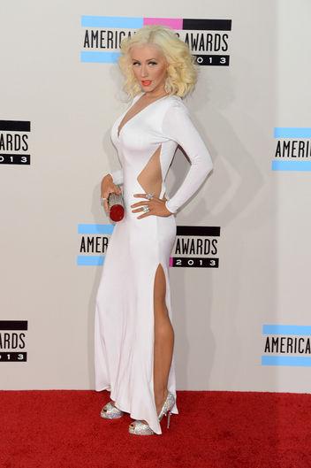 Christina Aguilera in Maria Lucia Hohan gown