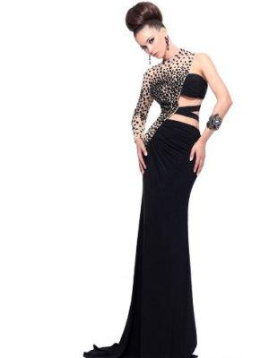 sherri hill long gown Rectangle Shape