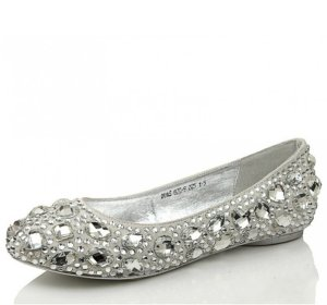 Prom Shoes - Cheap Silver, Gold, Flat Prom Shoes