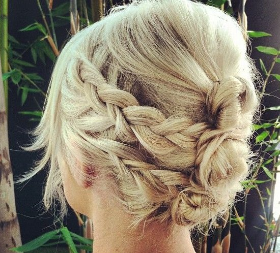 Prom Hair Updos with Braids