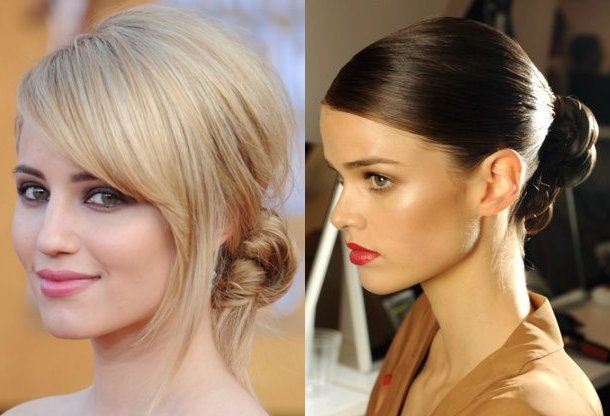 sleek hairstyle updos for prom