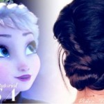 Cute Prom Updo Tutorial 2015 Inspired by Elsa (Frozen)