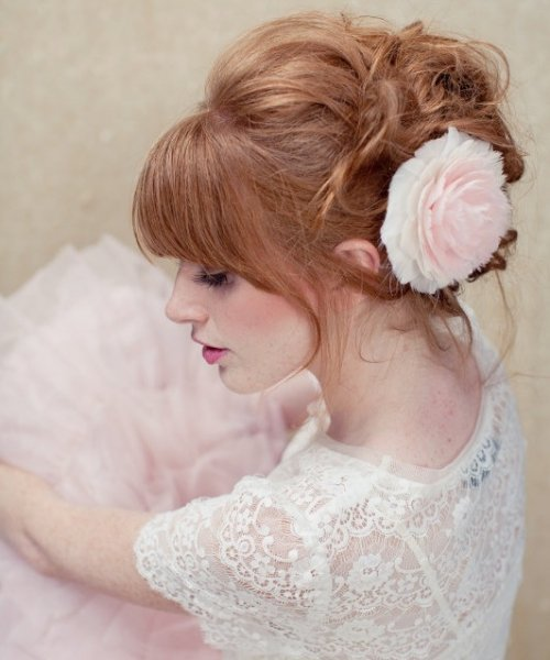 Cute prom updo hairstyles ideas with pictures Brown hair color haircuts hairstyles for and hair colors brown