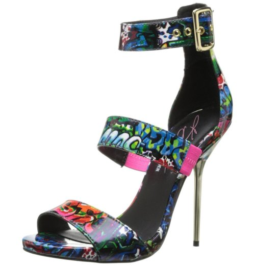 colorful graffiti prom shoes 2015 by Steve Madden KC Telme