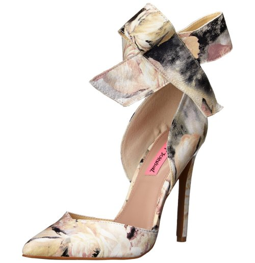 elegant floral prom shoes 2015 by Betsey Johnson Malissa