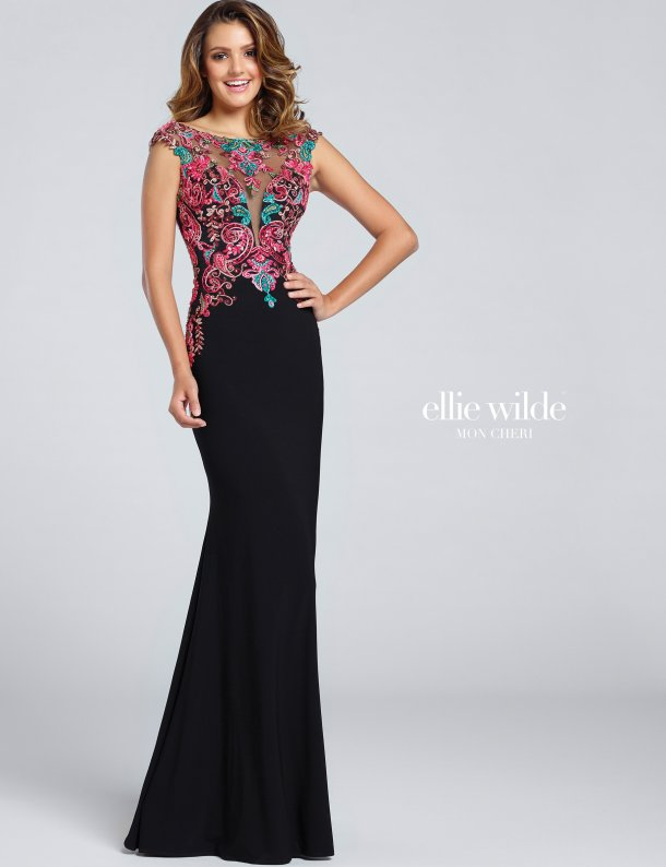 ew117054-red-green-embroidery-black-dress-ellie-wilde-prom-dresses-2017