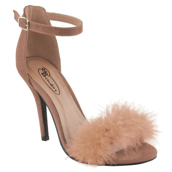 Fashion Thirsty faux furr prom shoes