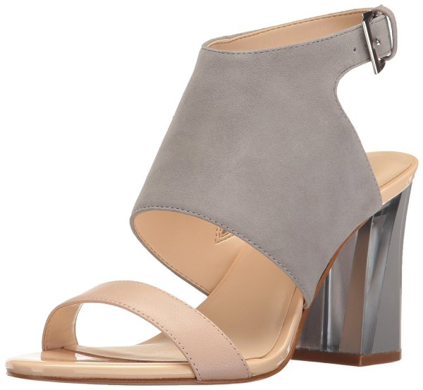 Nine West chunky color block prom shoes