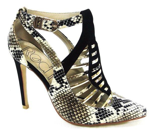 RKG faux snakeskin prom sandals