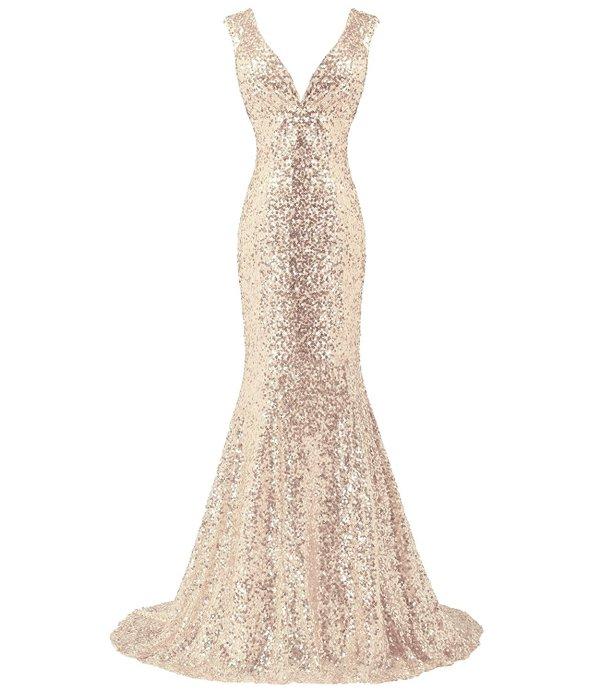 sequined parisian prom dress-Bess Bridal