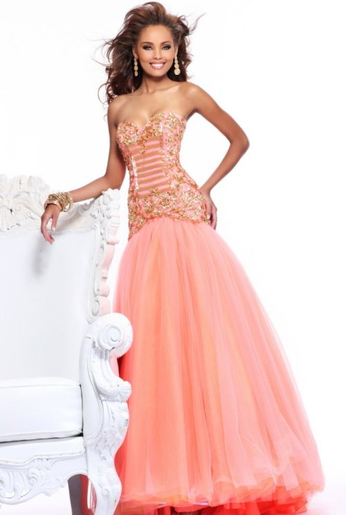 Top 3 Long Strapless Prom Dresses By Sherri Hill