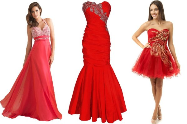 Red Prom Dresses Under 100