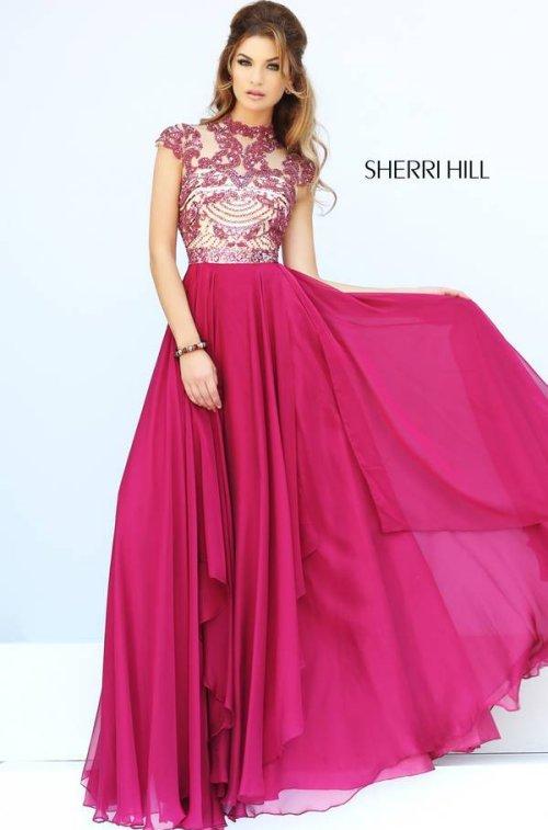 2016 Long Sherri Hill Prom Dresses
