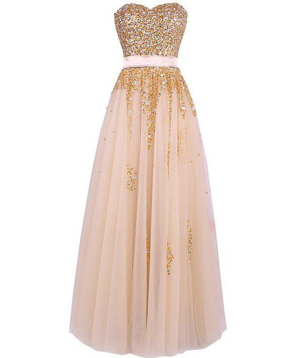 Top 10 Paris At Night Themed Prom Dresses